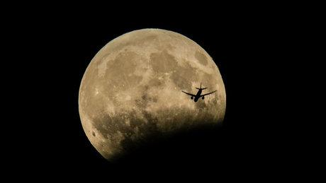 Parçalı Ay tutulması görenleri mest etti