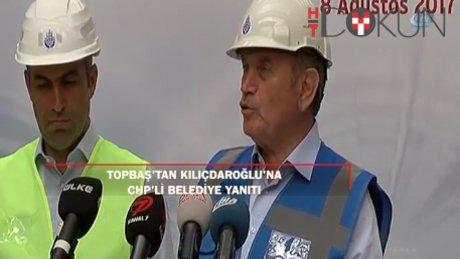 """Topbaş'tan Kıılıçdaroğlu'na yanıt: """"Biz geriye bakmıyoruz"""""""