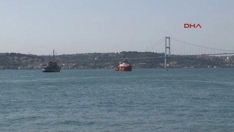 İstanbul Boğazı'ndaki Furkan Yıldırım'ı arama çalışmaları devam ediyor