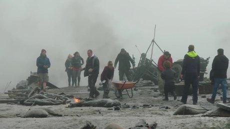 Game of Thrones'un savaş sahnesinin kamera arkası görüntüleri