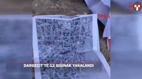 Mardin Dargeçit'te 12 PKK sığınağı bulundu