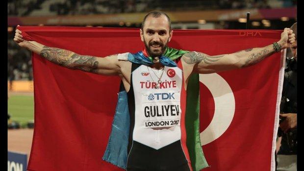 Ramil Guliyev erkekler 200 metrede dünya şampiyonu oldu!