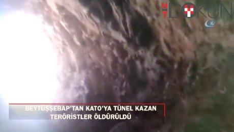 Teröristler taş kırıcı makinelerle kazdıkları mağarada öldürüldü