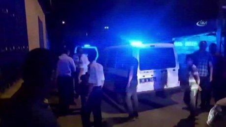 Tartıştığı eşini rehin alan öfkeli kadını polisler ikna etti