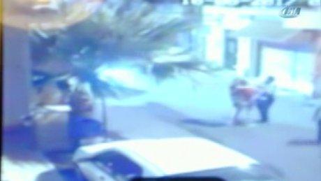 Polislerin darp iddiası kamerada