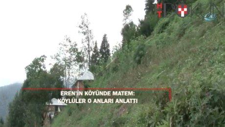Şehit Eren'in köyünde hüzün hakim