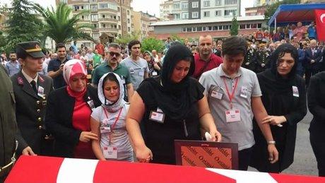 Trabzon'da Şehit Ferhat Gedik için Trabzon'da tören düzenlendi