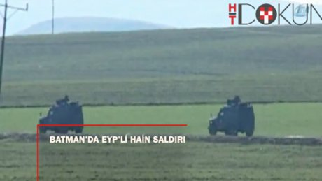 Askeri konvoyun geçişi sırasında EYP infilak etti: 2 şehit