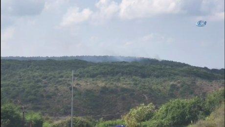 Sarıyer Rumeli Feneri'nde orman yangını