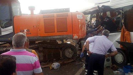 Ağrı - Patnos Karayolunda trafik kazası