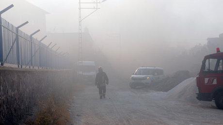 Gaziantep'te iplik fabrikasında yangın!