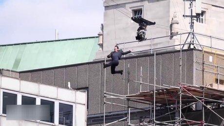 Tom Cruise film çekimi sırasında böyle yaralandı
