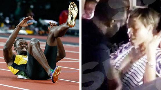 Yarıştan önce fena dağıttı