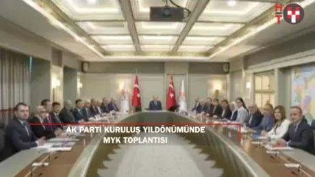 AK Parti'den 16. yıldönümünde MYK toplantısı