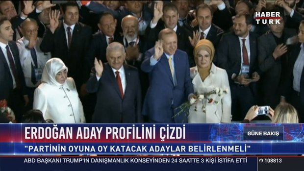 Cumhurbaşkanı Erdoğan seçim startını verdi