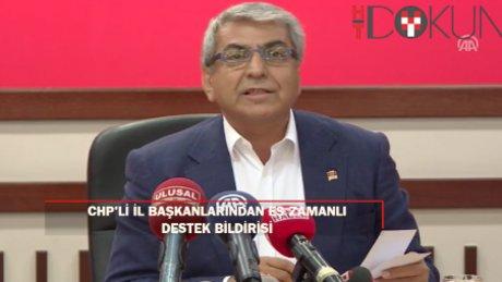 CHP'li il başkanlarından Kılıçdaroğlu'na destek