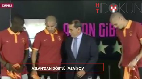 Galatasaray'dan 4'lü imza şov