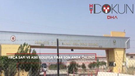 Osmaniye'de cezaevinden firar girişimi önlendi