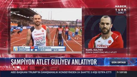 Ramil Guliyev, Habertürk TV'ye konuştu