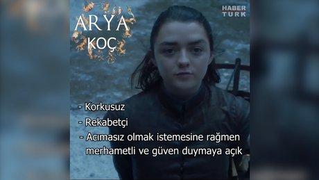 Game of Thrones karakterlerinin burçları