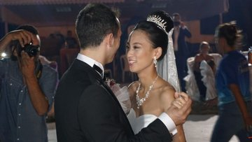 Çinli geline Trakya usülü düğün