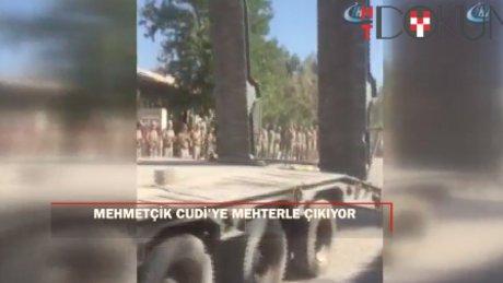 Mehmetçik Cudi'ye 'Mehter' ile çıkıyor