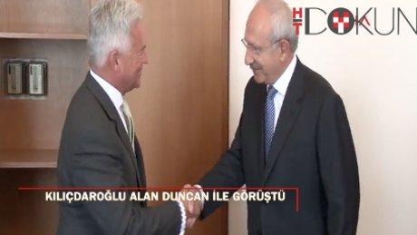 Kılıçdaroğlu Alan Duncan ile görüştü
