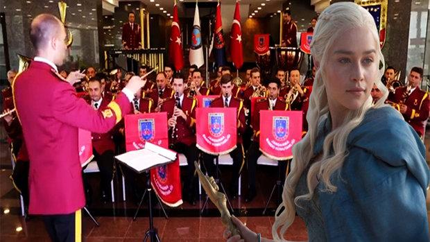 Jandarma Bandosu'ndan Game of Thrones şarkısı