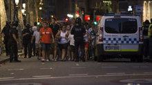 Barcelona'da bir araç kalabalığın arasına daldı: 13 ölü, en az 100 yaralı