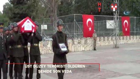 PKK'nın Diyarbakır sözde sorumlusunu öldüren şehide son veda