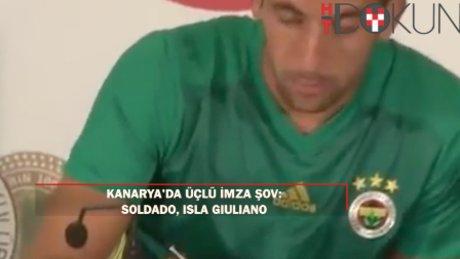 Soldado, Isla ve Giuliano imzayı attı