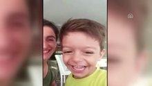 3 yaşındaki Alperen'in annesiyle çekilmiş son görüntüleri