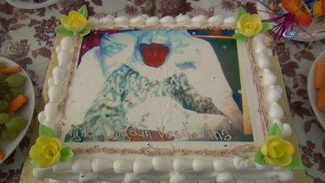 93 yaşındaki hastaya doğum günü sürprizi