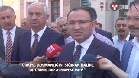 """Bozdağ: """"Esas Türkiye'nin içişlerine müdahaleyi Almanya yapmaktadır"""""""