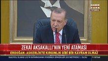 Cumhurbaşkanı Erdoğan'dan Zekai Aksakallı açıklaması