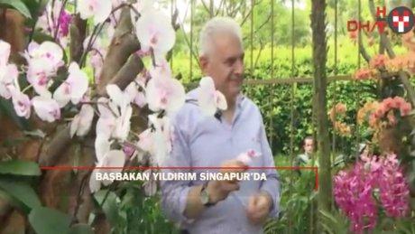 Başbakan Yıldırım Singapur'da