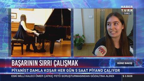 Damla Koşar, Viyana'da birinci oldu