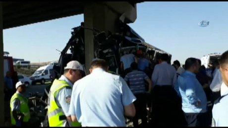 Eskişehir-Ankara karayolunda kaza