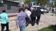 Anadolu Adliyesi'nin önünde silahlı kavga çıktı