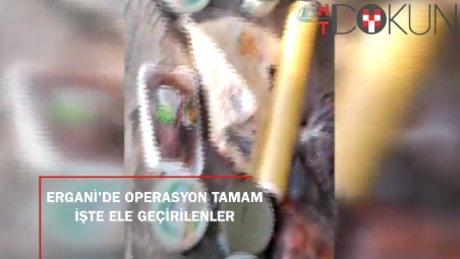 Ergani'de terör operasyonu tamamlandı