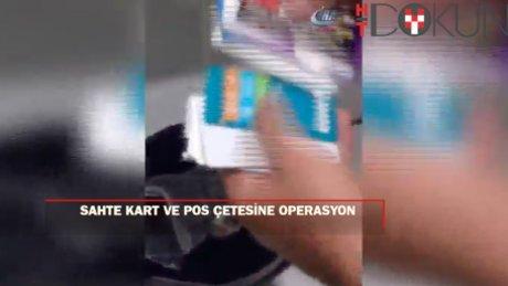 İstanbul'da kredi kartı dolandırıcılarına operasyon