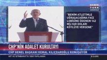 Kılıçdaroğlu Adalet Kurultayı'nın açılışında konuştu