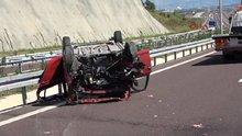 Festival dönüşü kaza: 1 ölü