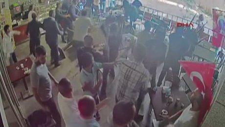 Anadolu Adalet Sarayı'ndaki kavga anı kamerada