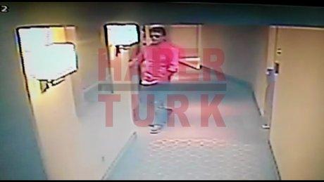 Vatan Şaşmaz'ın otele ve odaya giriş görüntüleri ortaya çıktı