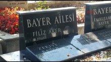 Filiz Aker 1 ay önce mezarını yaptırmış