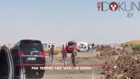 Diyarbakır'da askeri aracın geçişinde patlama