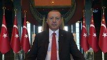Cumhurbaşkanı Recep Tayyip Erdoğan'dan bayram mesajı