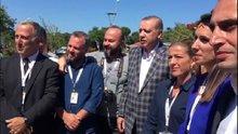 Erdoğan'la karadenizli muhabir arasında güldüren dialog