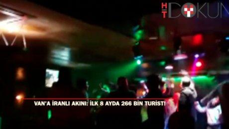 İranlılar Van'da sabaha kadar eğleniyor